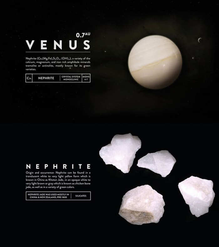 deskspace desk accessory earth venus nephrite