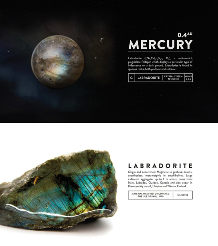 deskspace desk accessory mercury labradorite