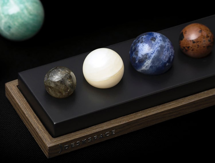 deskspace deskx planet gemstones