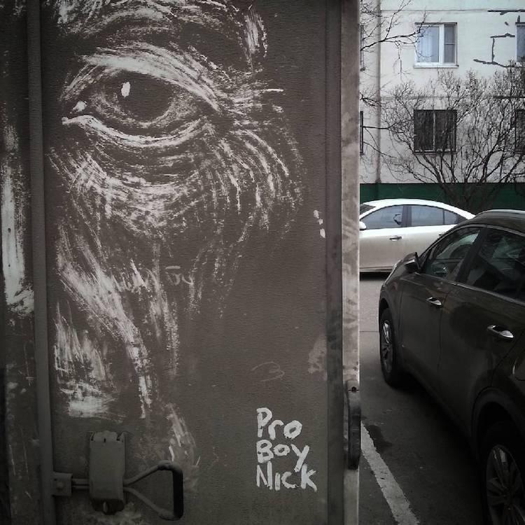 dirty cars art nikita golubev smoker face detail