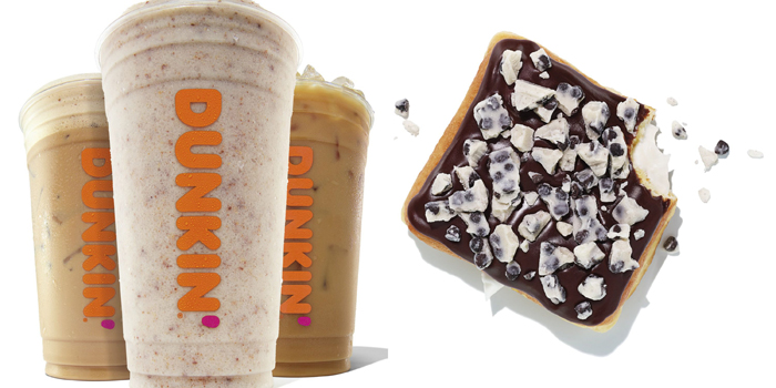 dunkin hershey candy-inspired coffee flavors donut