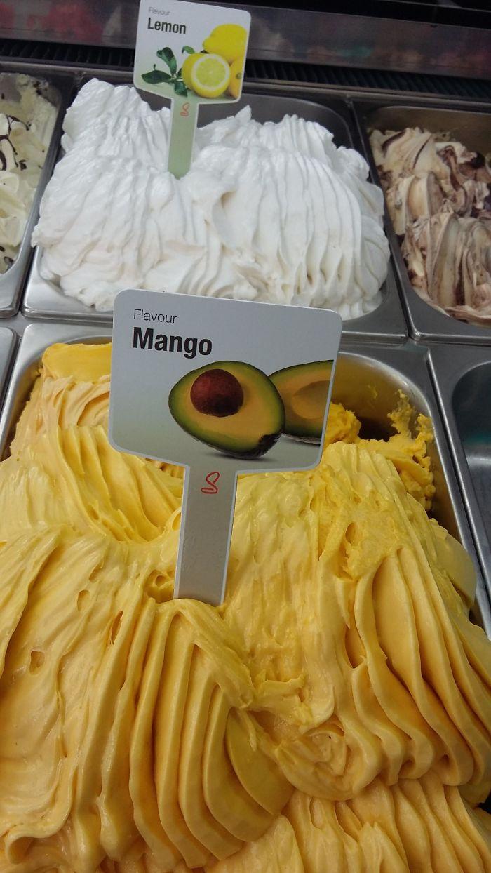 embarrassing moments mango avocado