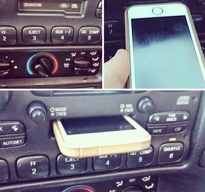 embarrassing moments phone docking station