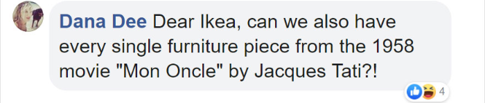 fan suggestion for an IKEA set of iconic furniture
