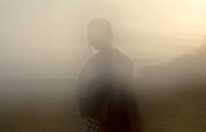 foggy effect handmade kimono maya caulfield