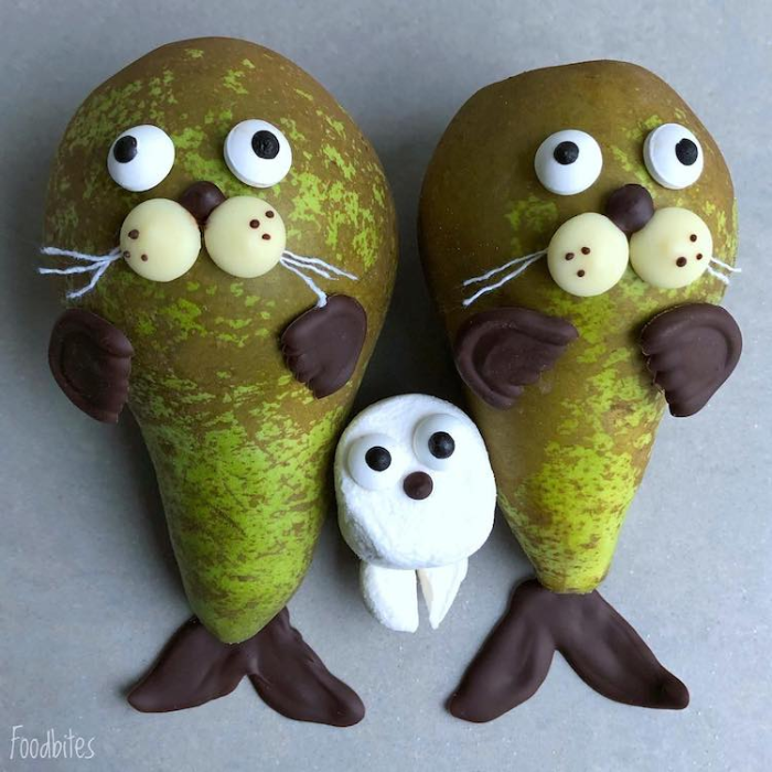 foodbites character food art family