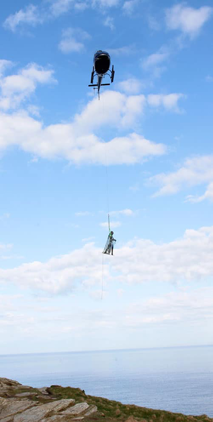 gallos bronze sculpture helicopter