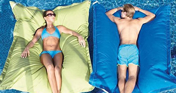 giant floating cushions