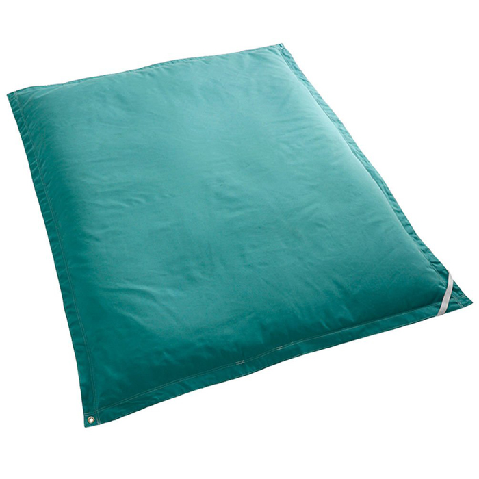 gigantic bean bag pool float aquamarine