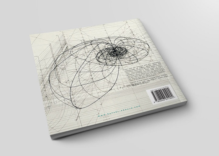 golden ratio illustrations coloring book back cover
