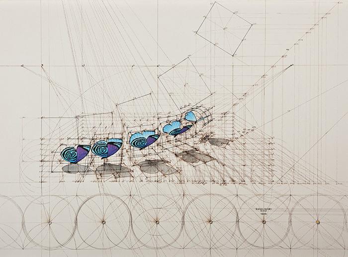 golden ratio illustrations diaethrea sequence
