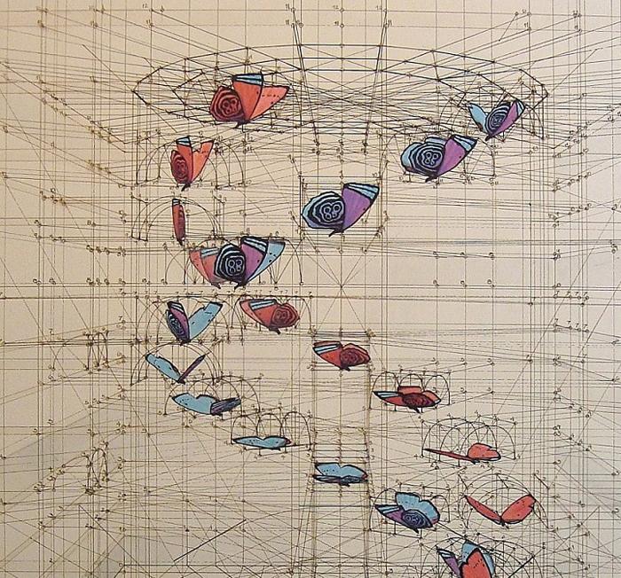 golden ratio illustrations dna butterflies double helix
