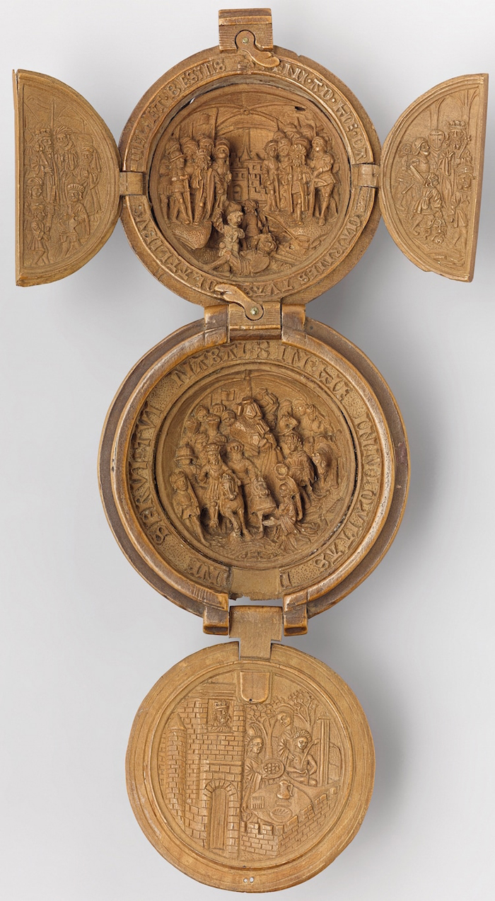 gothic boxwood miniatures david and goliath