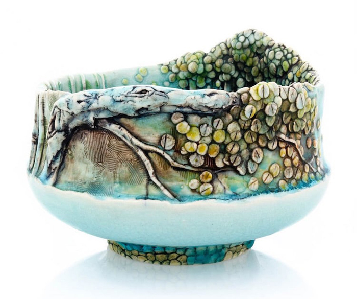 heesoo lee aspen trees ceramic vessels