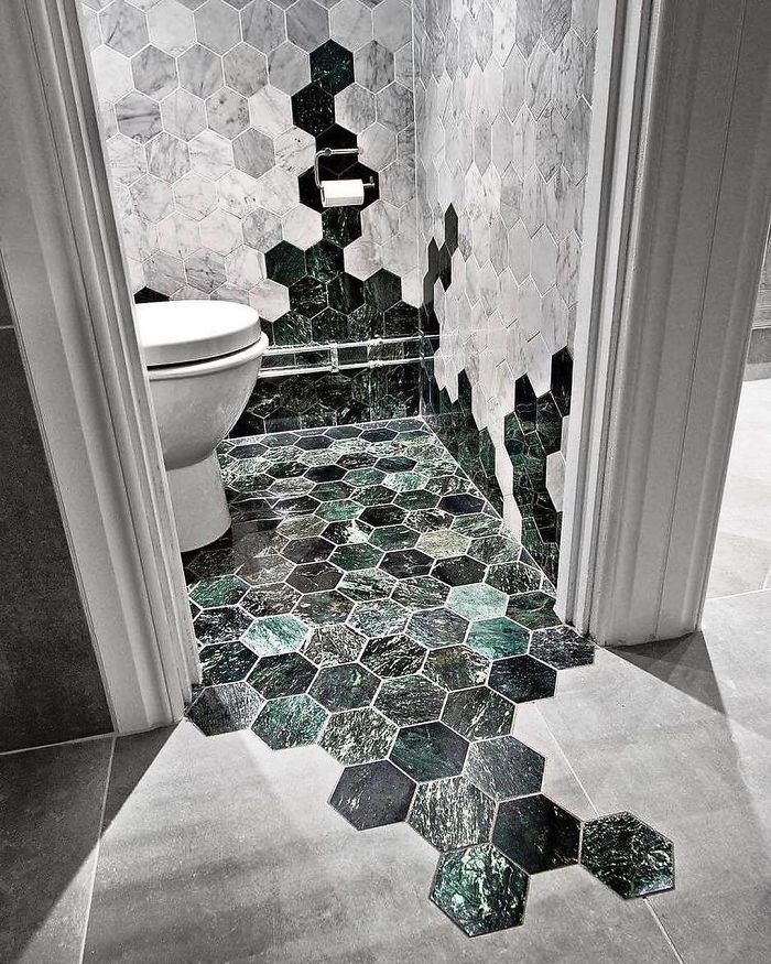 hexagonal tiles unique furniture designs