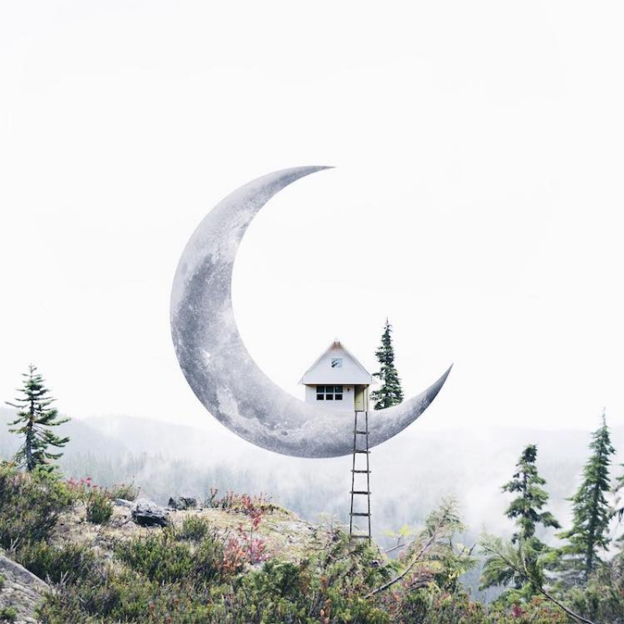 house on the moon surrealism photography luisa azevedo