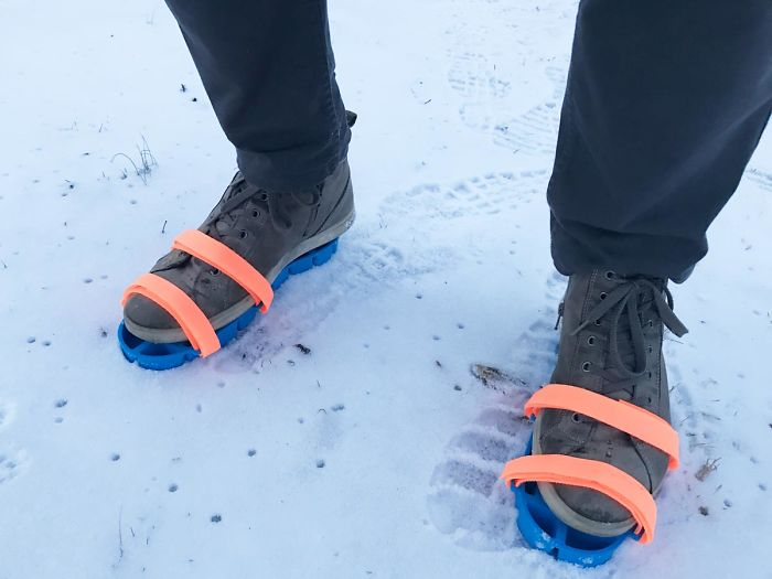 ice tray and snow shoe grips in one by Dominic Wilcox