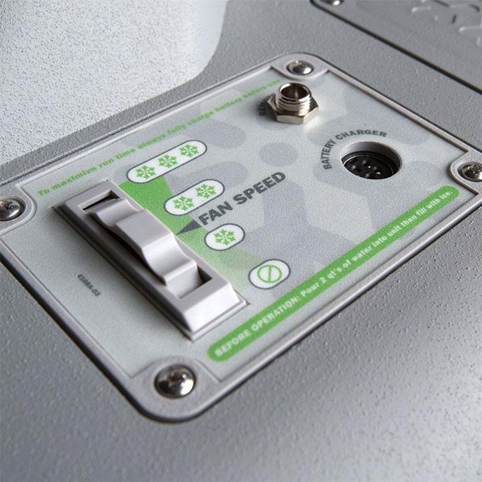 icybreeze controls