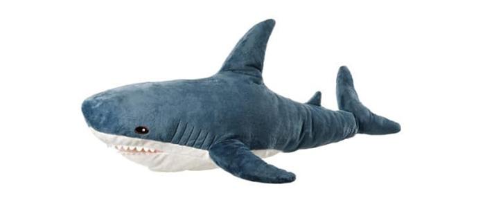 ikea plush shark toy blahaj