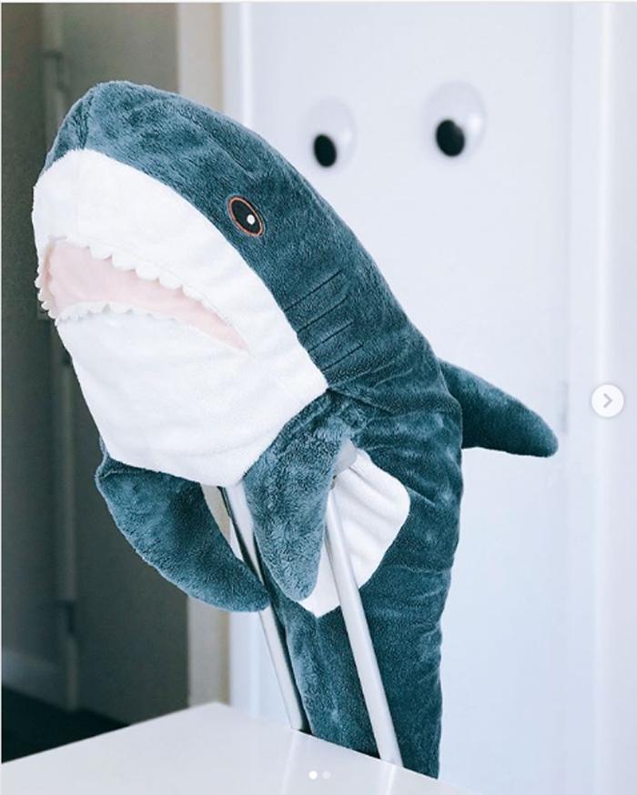 ikea plush shark toy whatevershark