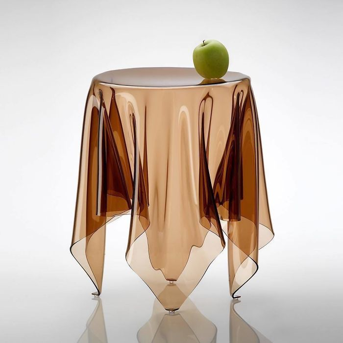 illusion table unique furniture designs