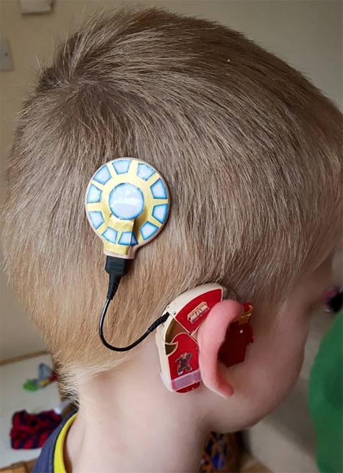 iron man hearing aid