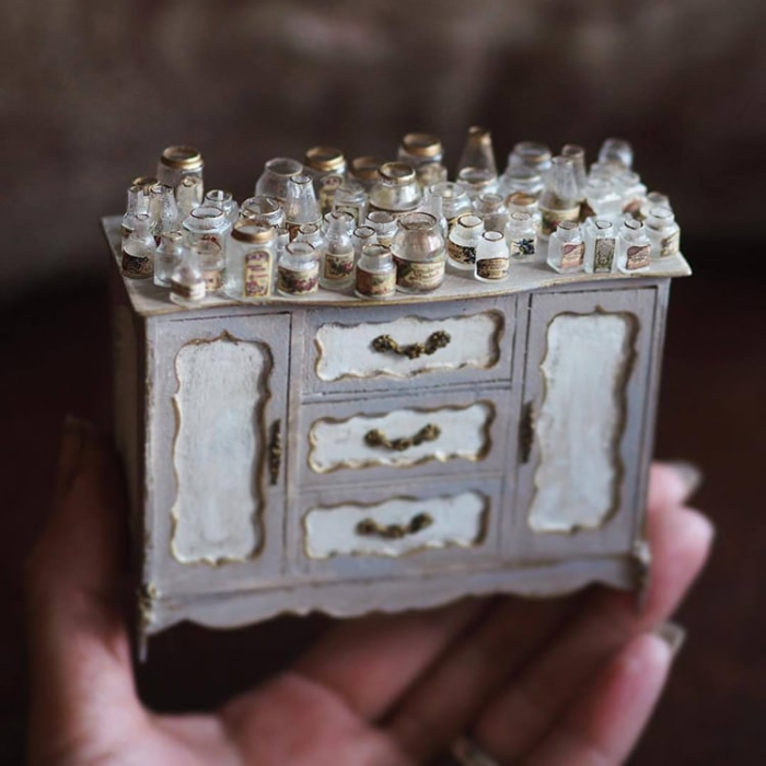 jars and containers handmade miniatures kiyomi chiisana shiawase
