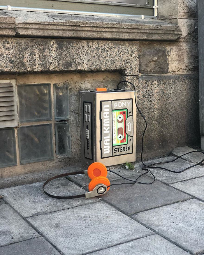 johan karlgren stunning pixel art sony walkman