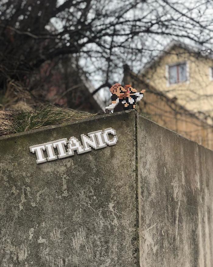 johan karlgren stunning pixel art titanic