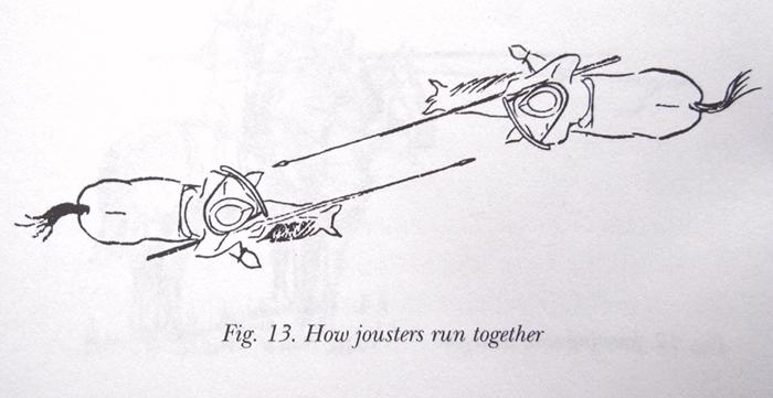 jousting illustration