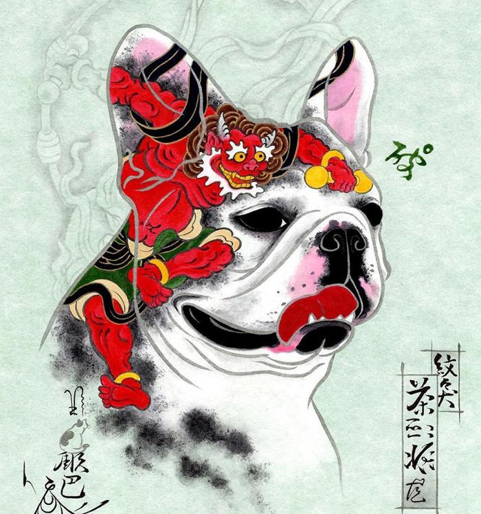 kazuaki horitomo monmon dog pug