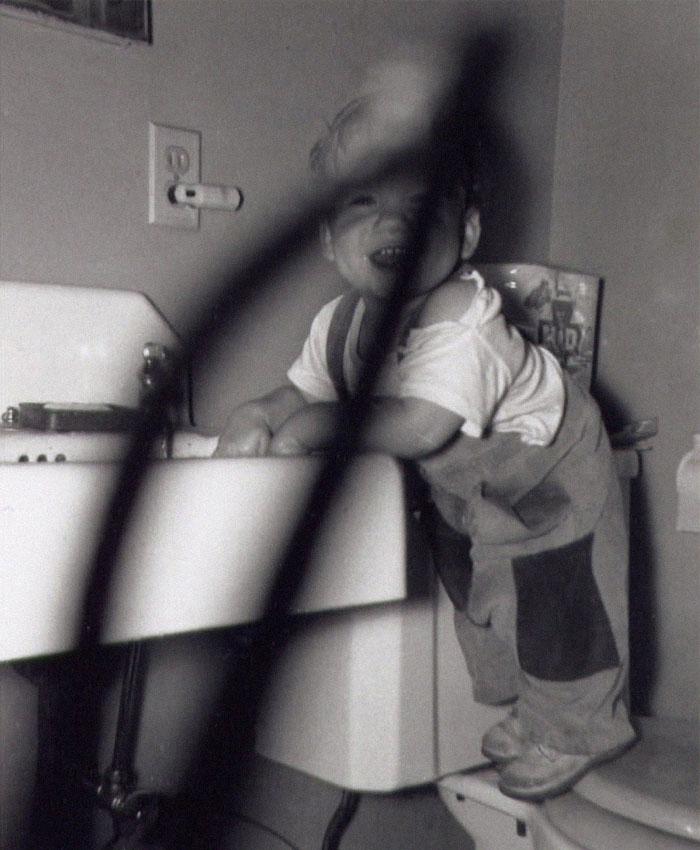 kid with shadow photoshop photo restoration michelle spalding