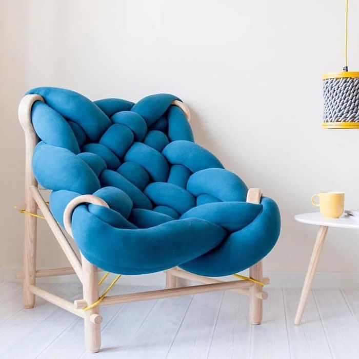 knit chair unique furniture designs