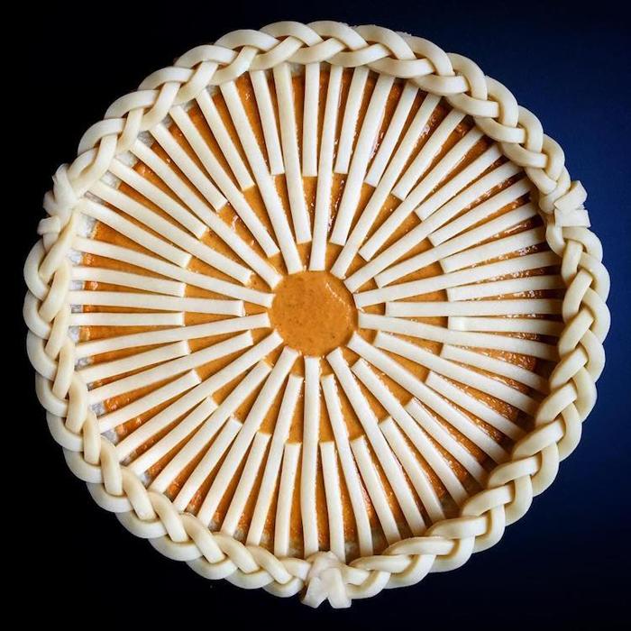 lauren ko art pies dough strips