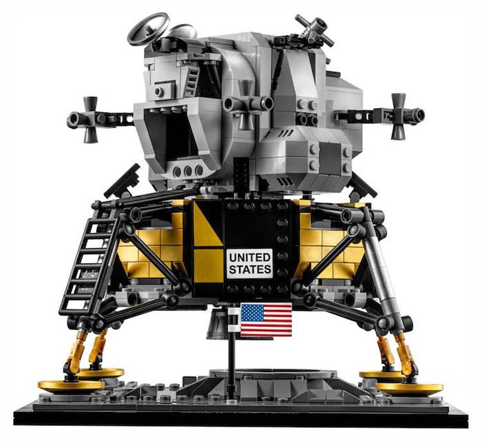 lego apollo 11 lunar lander kit