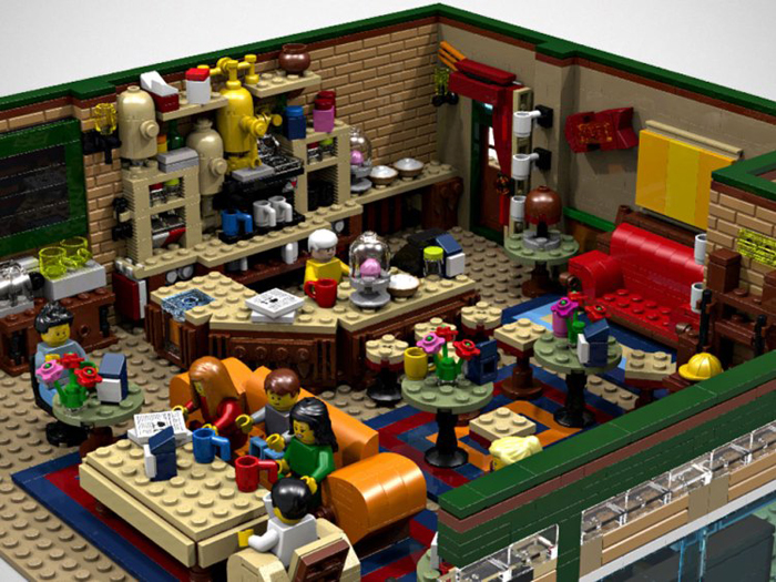 lego ideas central perk coffee shop layout