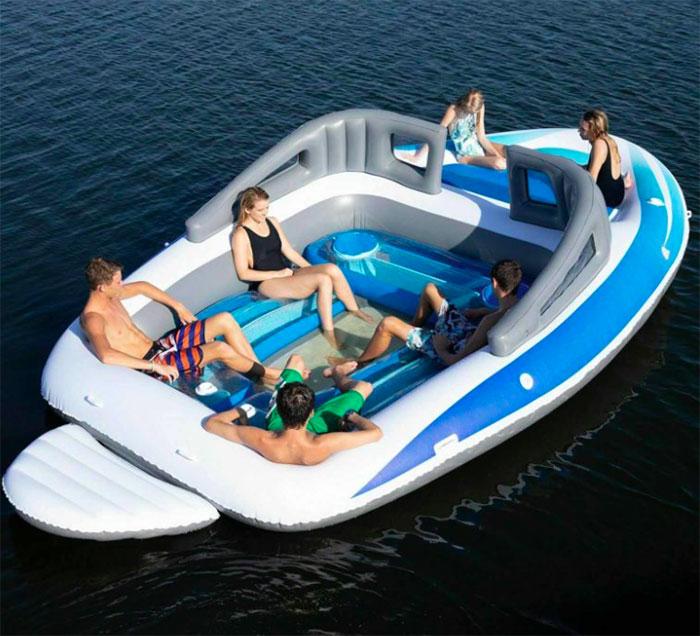 life-size inflatable speedboat amazon