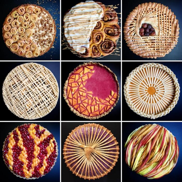 lokokitchen initricate art pies
