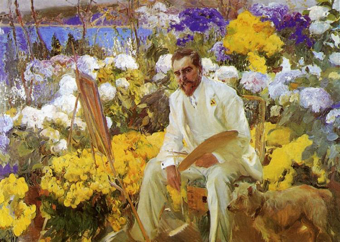 louis comfort tiffany portrait painting