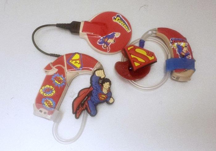 lugs superheroes hearing aids cocklear implants