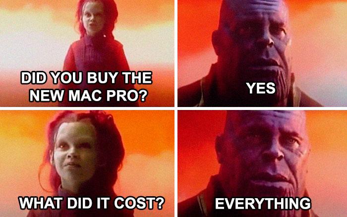 mac pro funny memes infinity war