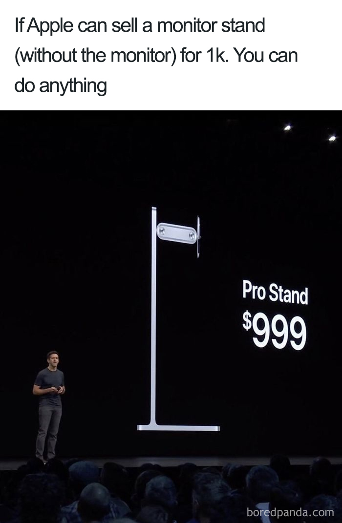 mac pro stand expensive