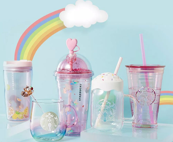 magnetic tumblers starbucks china merchandise summer collection 2019