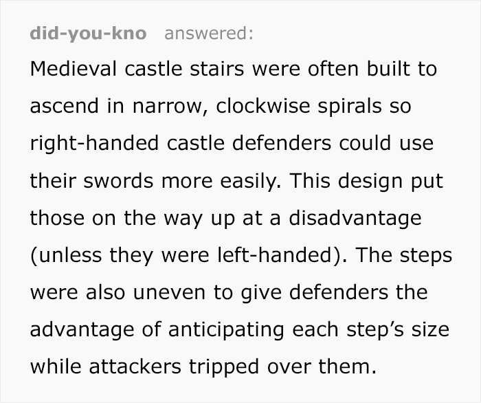 medieval castles spiral staircases tumblr thread