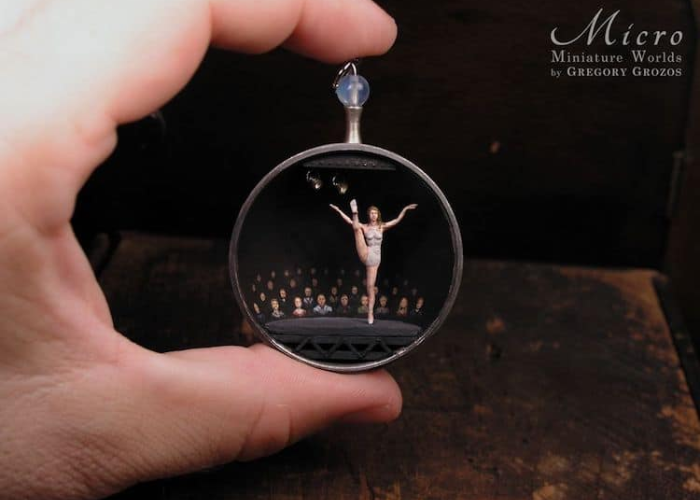 miniature worlds inside pocket watches and pendants ballet