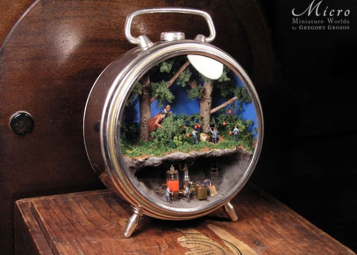 miniature worlds inside pocket watches and pendants mining