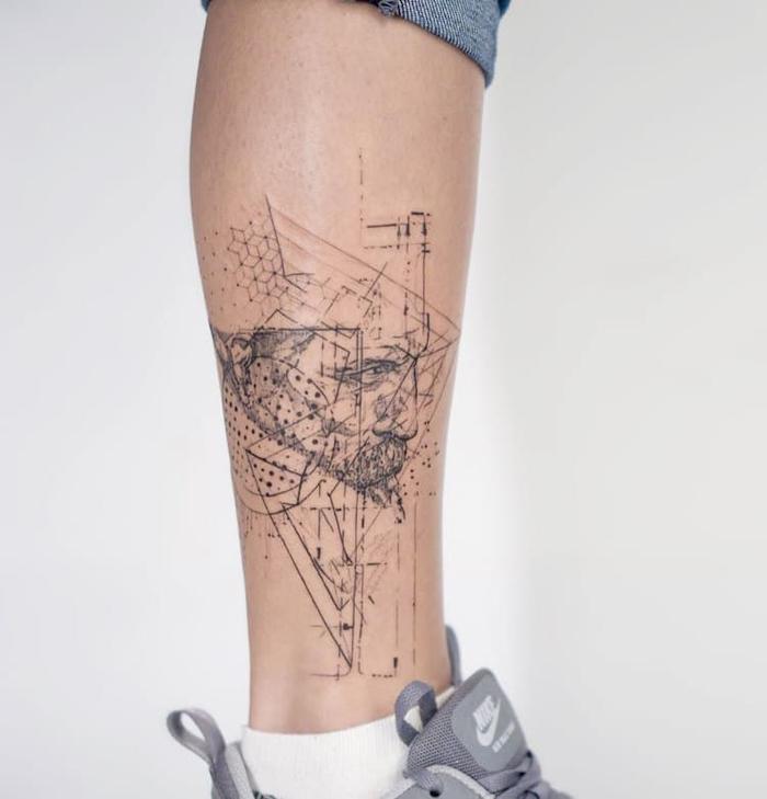 mowgli abstract tattoos