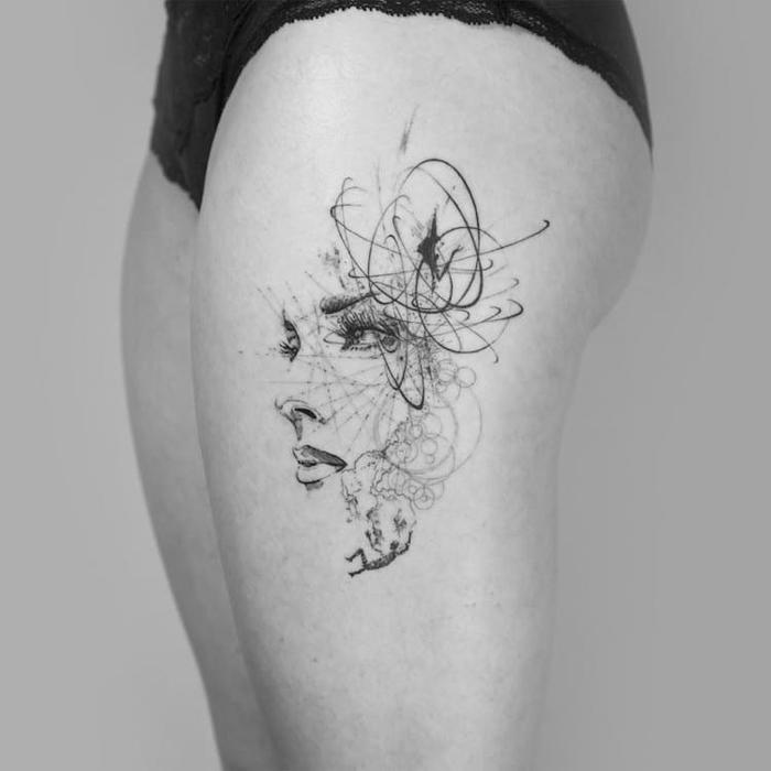 Stunning This Tattoo Artist Uses Real Flowers To Create: London Based Tattoo Artist Creates Beautiful Abstract