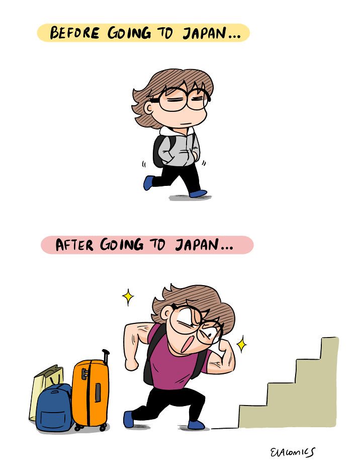 muscle training comics japan cultural differences by evacomics