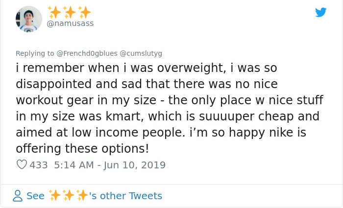 namusass nike plus size mannequin reactions